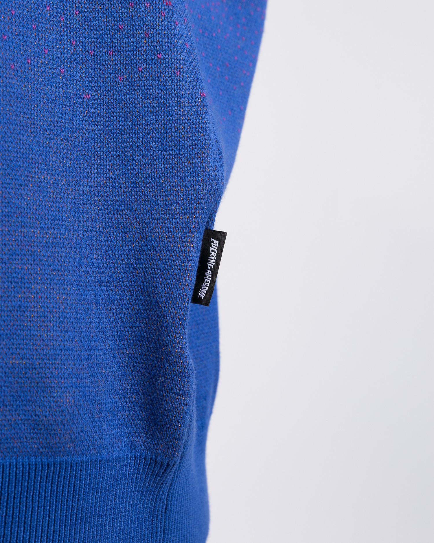 Fucking Awesome Scorpion Knit Sweater Purple