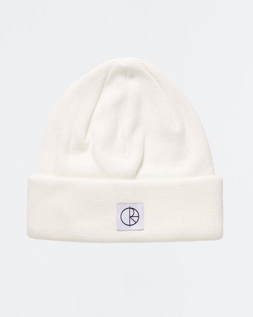 Polar Polar Double Fold Cotton Beanie Ivory