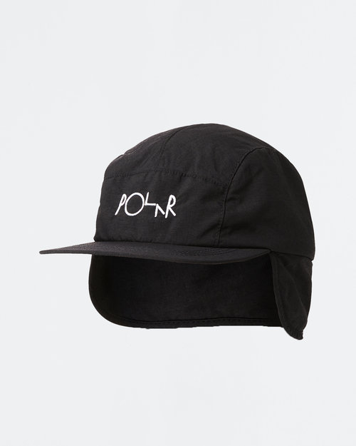 Polar Polar Flap Cap Black