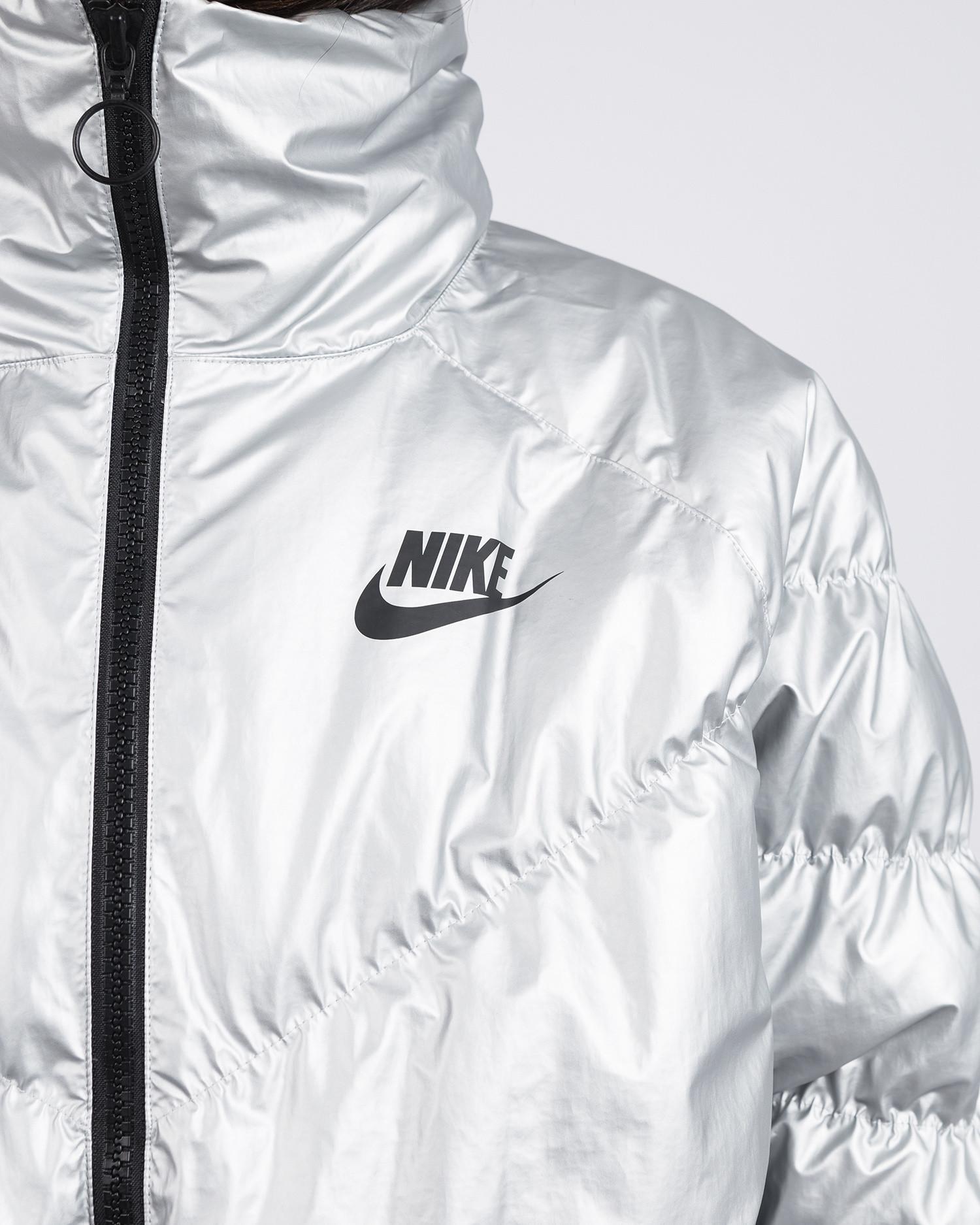 Nike Sportswear Synthetic Fill Jacket Metallic Silver/Black