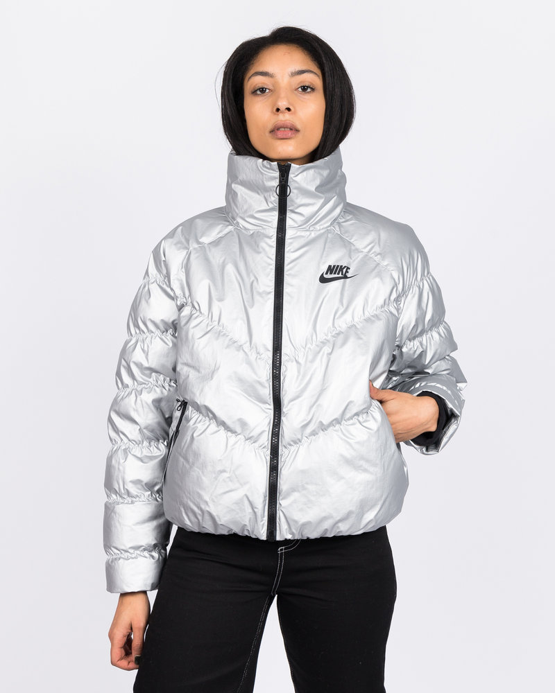 Nike Nike Sportswear Synthetic Fill Jacket Metallic Silver/Black