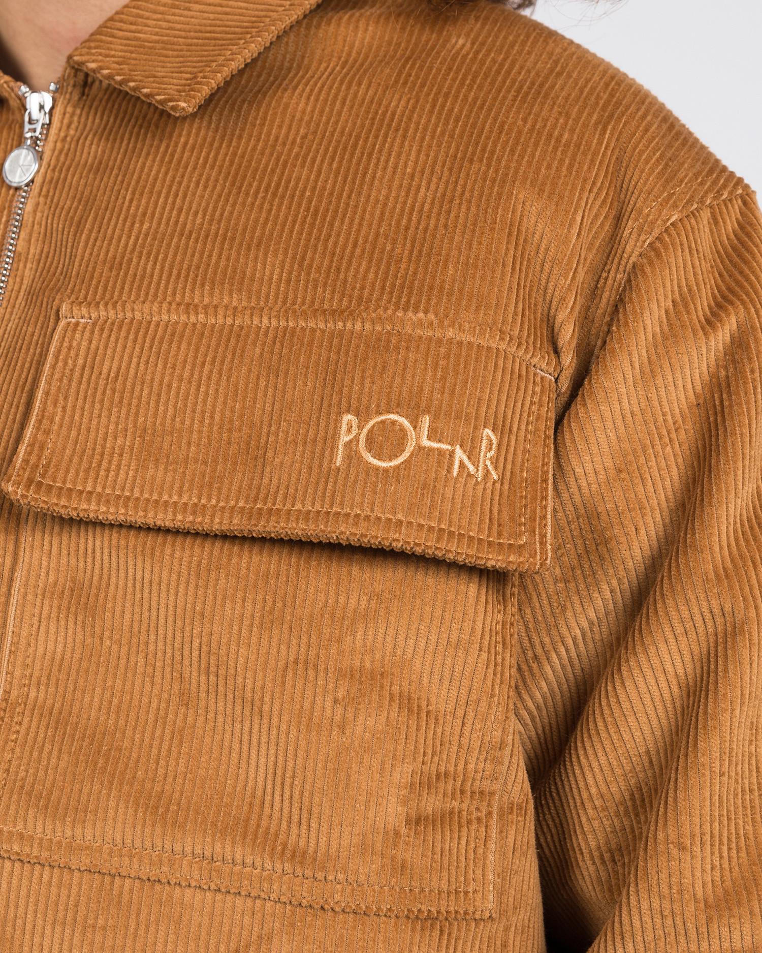 Polar Cord Jacket Tan
