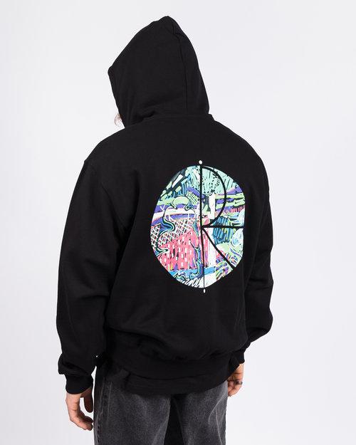 Polar Polar Garden Fill Logo Hoodie Black