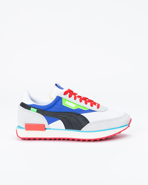 "Puma Puma Future Rider ""Ride On Pack"" White/High Rise/Blue"