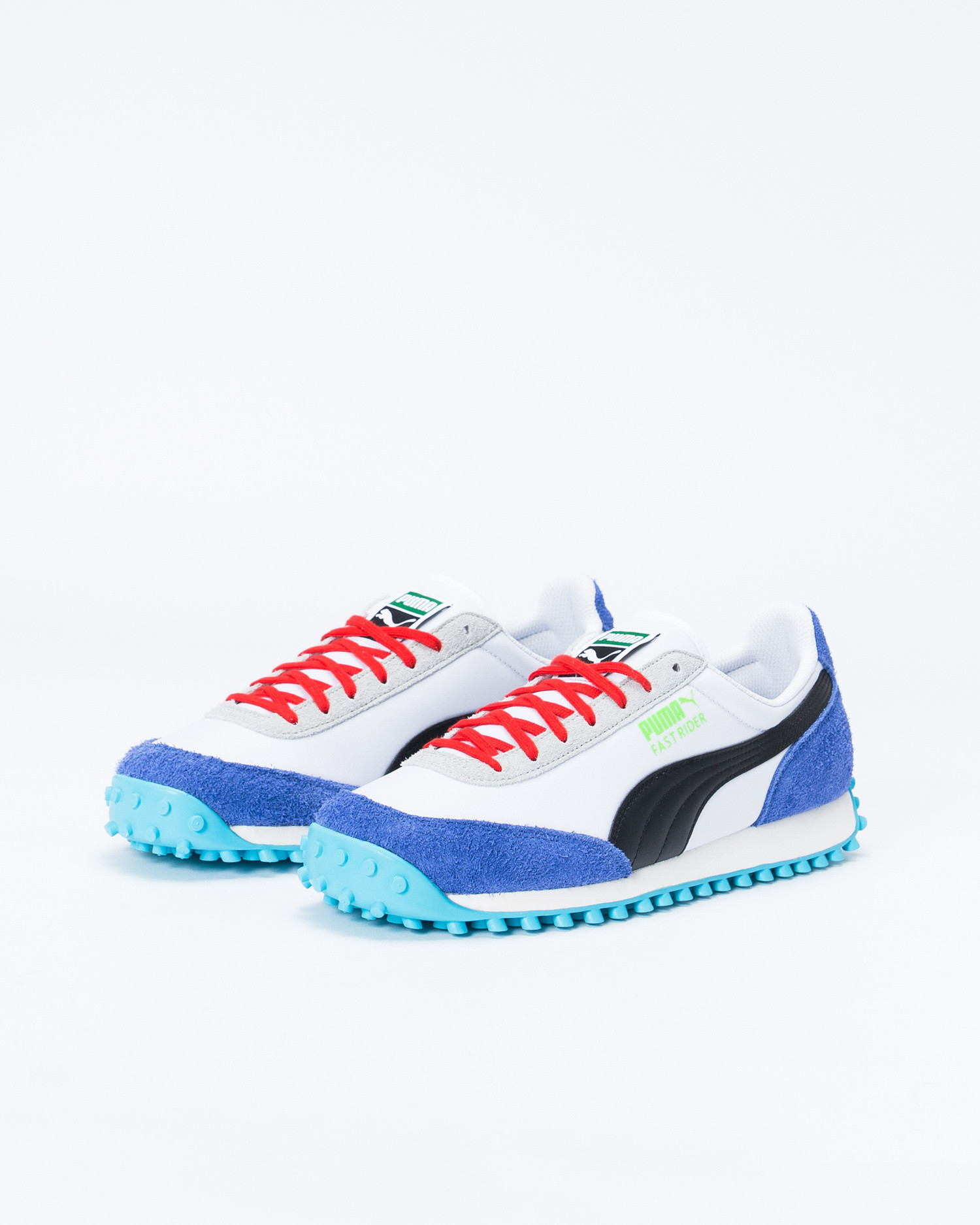 "Puma Fast Rider ""Ride On Pack"" White/Blue"