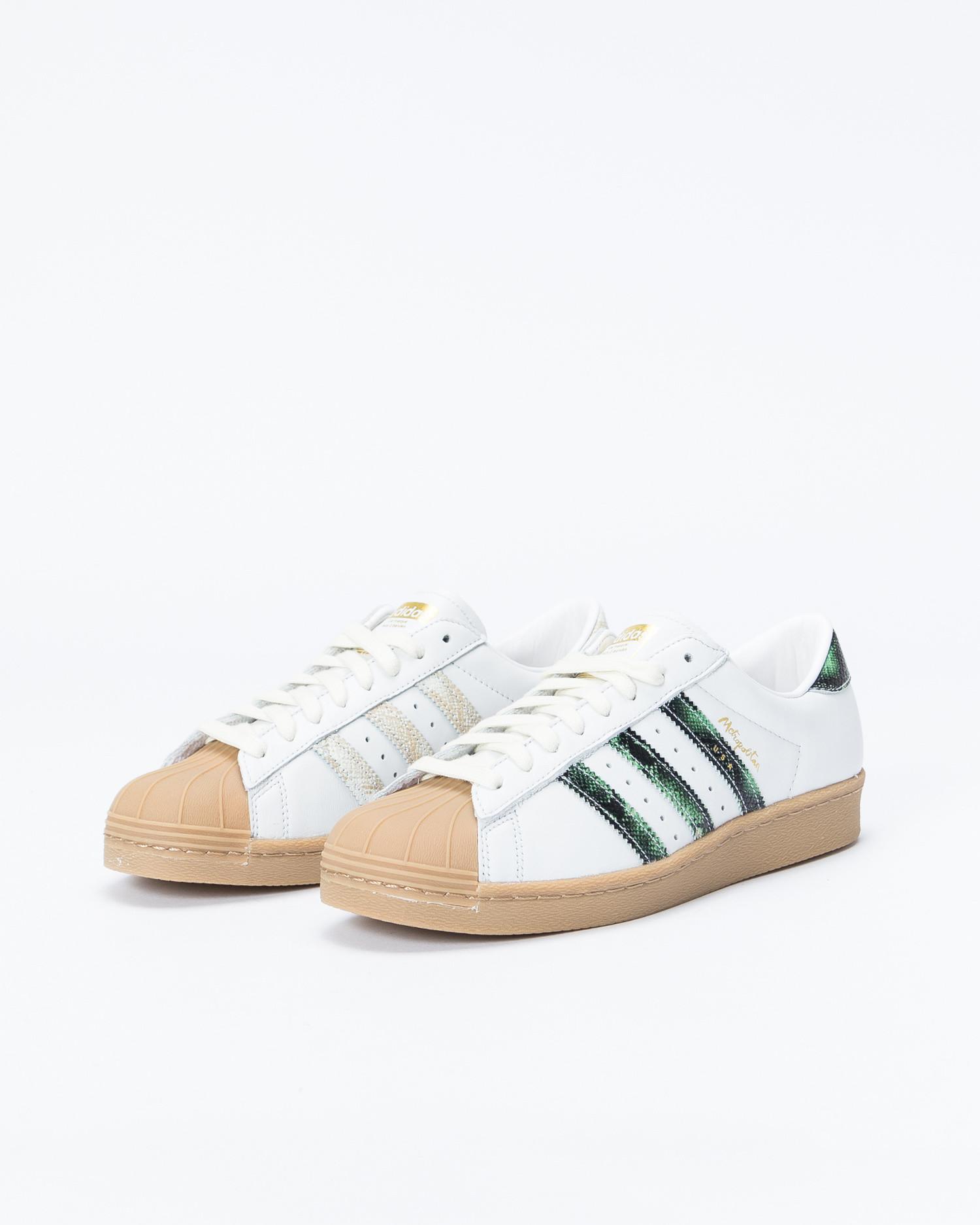 Adidas Superstar 80's X Metropolitan Crywhite/Coregreen/Gum4