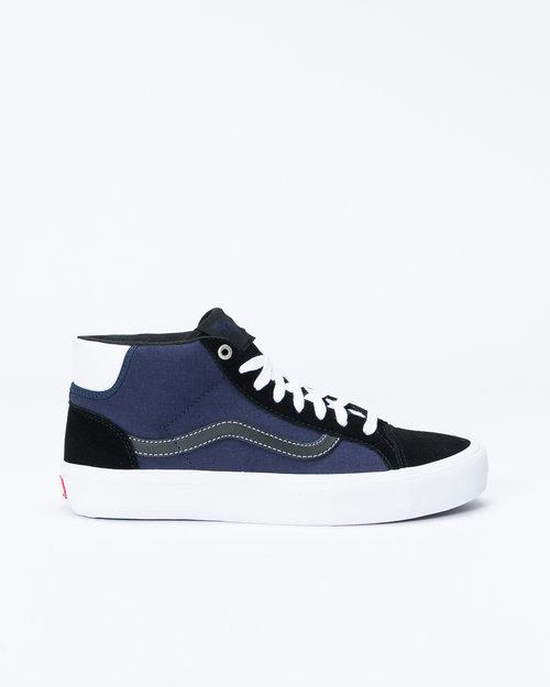 Vans Vans x Streetmachine Mn Mid School Pro Black/Dark Blue/True White