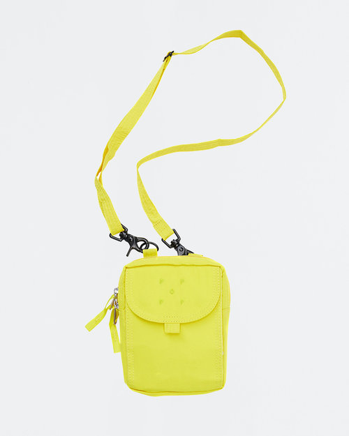 Pop Trading Co Pop Trading Co Passport Pouch Electric Yellow
