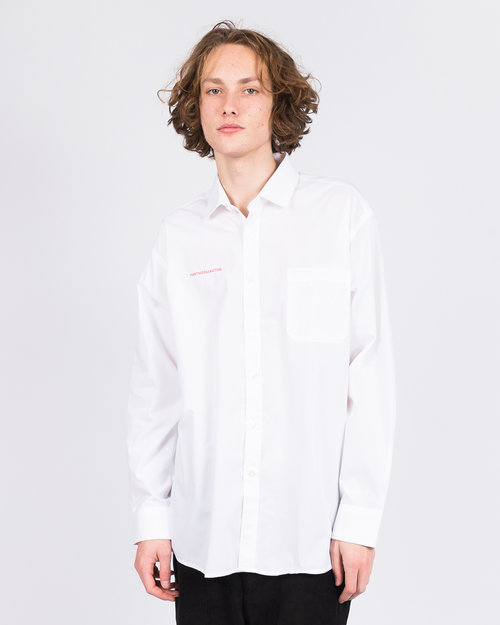 Poetic Collective Poetic Collective Longsleeve Shirt White