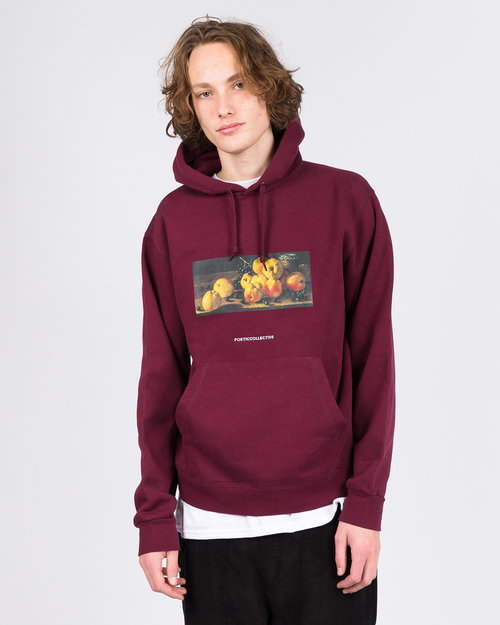 Poetic Collective Poetic Collective Hood Still Life Maroon