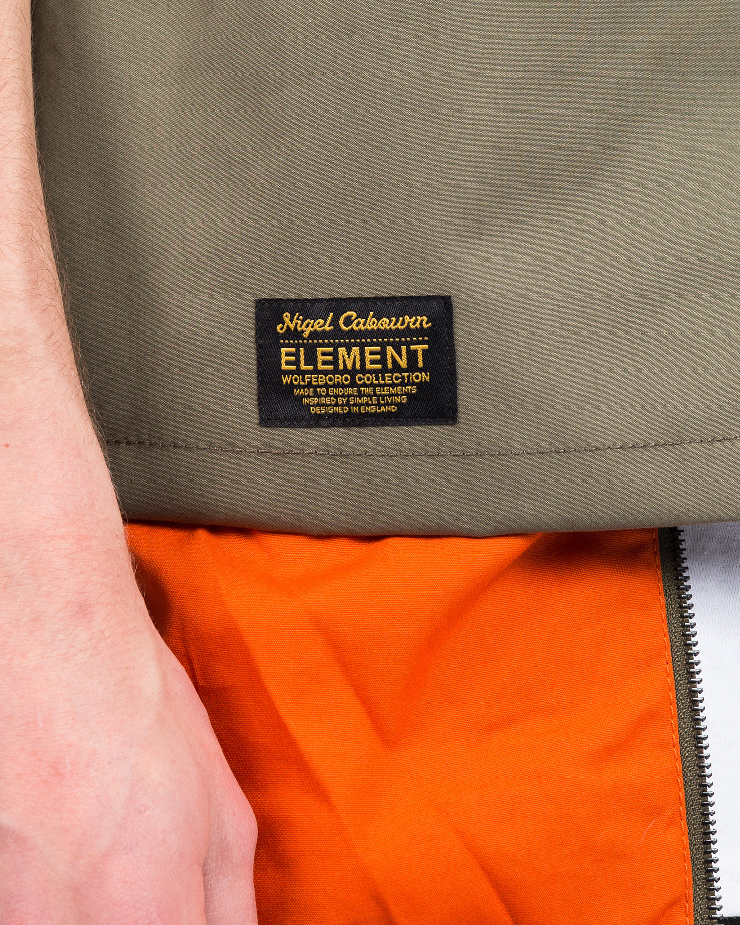 Element X Nigel Cabourn Alder Military Hunting Vest