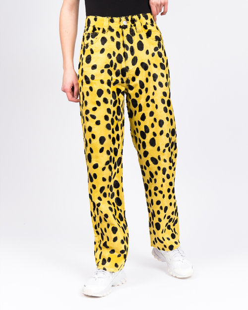 Made Me MadeMe Dalmatian Pocket Pant Yellow