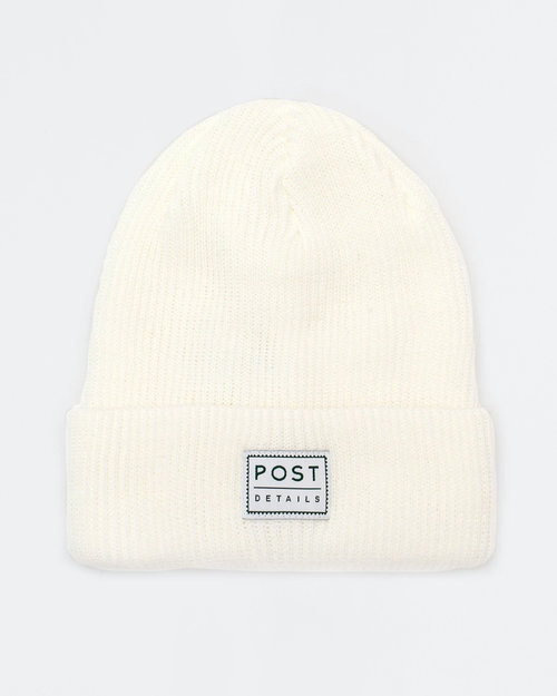 Post Details Post ABC Classic Beanie V7 Snow White