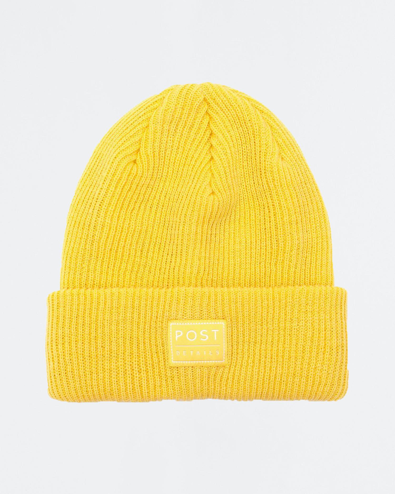 Post ABC Classic Beanie V7 Lemon Yellow