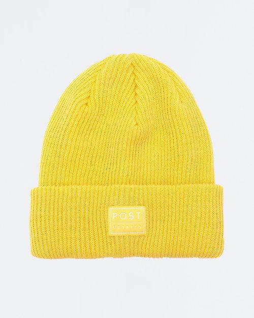 Post Details Post ABC Classic Beanie V7 Lemon Yellow