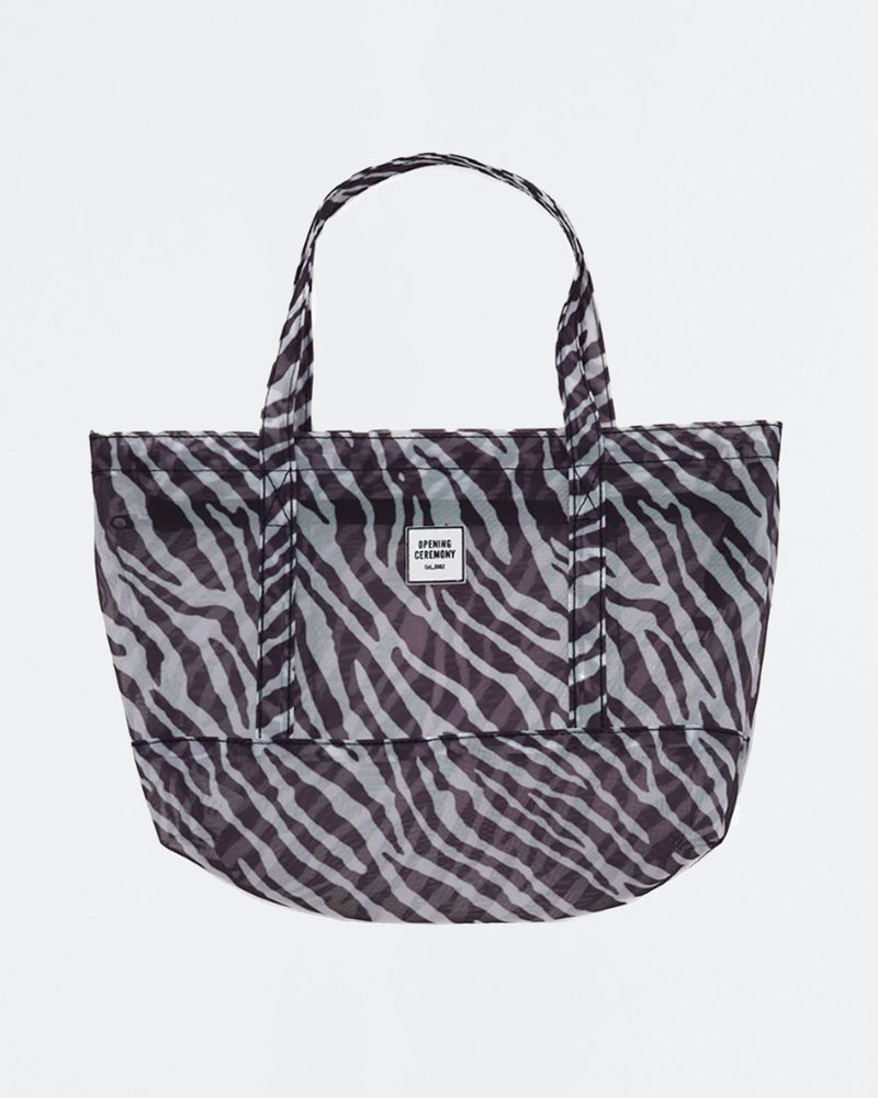Opening Ceremony Opening Ceremony Mesh Small Chinatown Tote Black