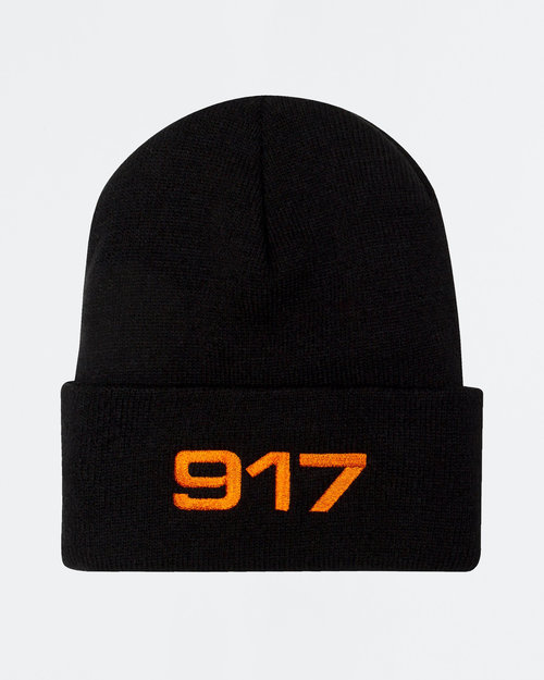 Call Me 917 Call me 917 Racing Beanie Black/Orange