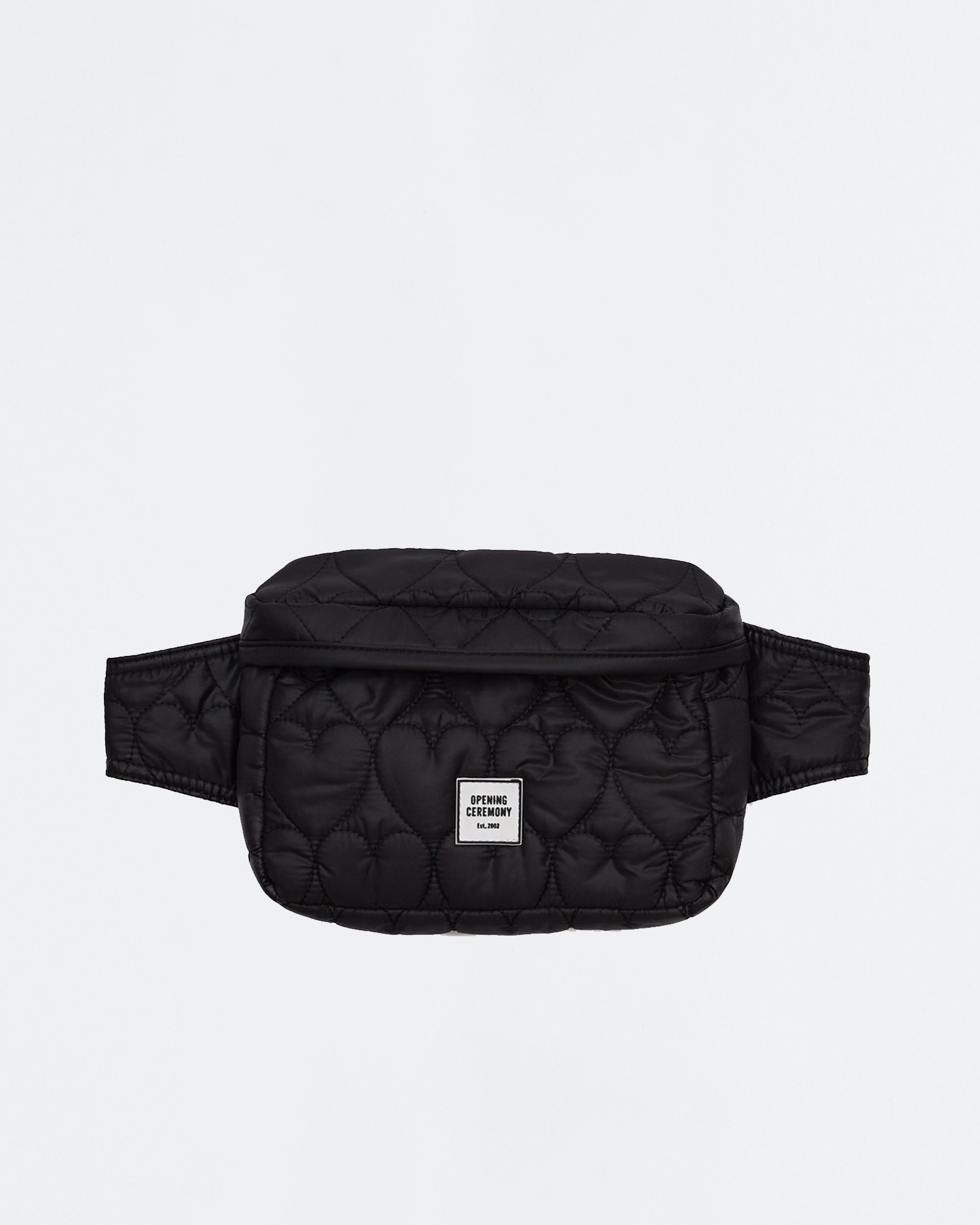 Opening Ceremony Quilted fannypack Black