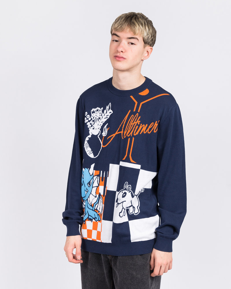 Vans Vans x Alltimers Sweater Dress Blue