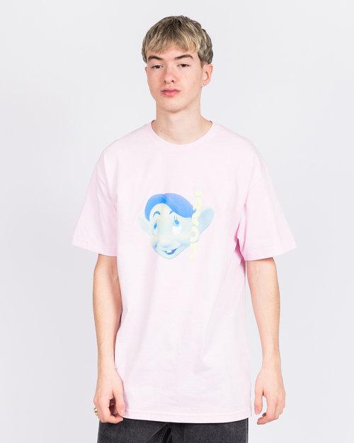 Quasi Quasi Skateboards Dayton Face T-Shirt Pink
