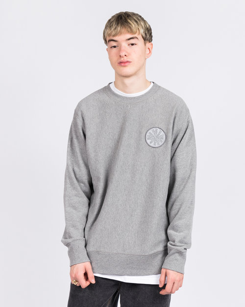 Fucking Awesome Fucking Awesome Spiral French Terry Crewneck Grey Heather