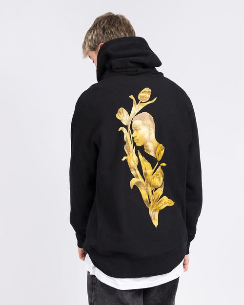 Fucking Awesome Fucking Awesome Flowers Hoodie Black