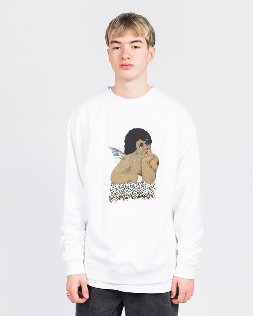 Fucking Awesome Fucking Awesome Angel 1 Crewneck White