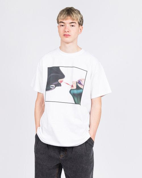 Call Me 917 Call Me 917 Leatherette T-Shirt White