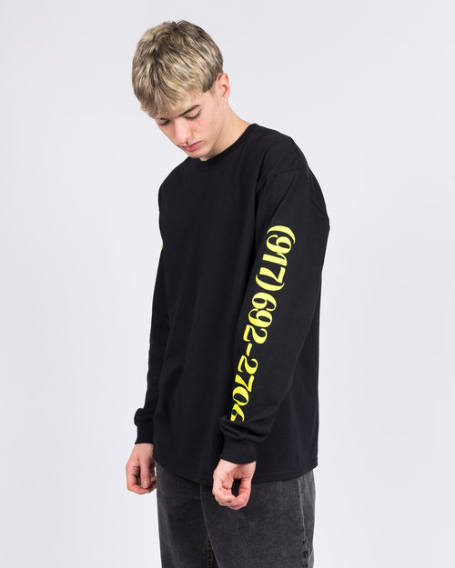 Call Me 917 Call me 917 Dialtone Longsleeve T-Shirt Black