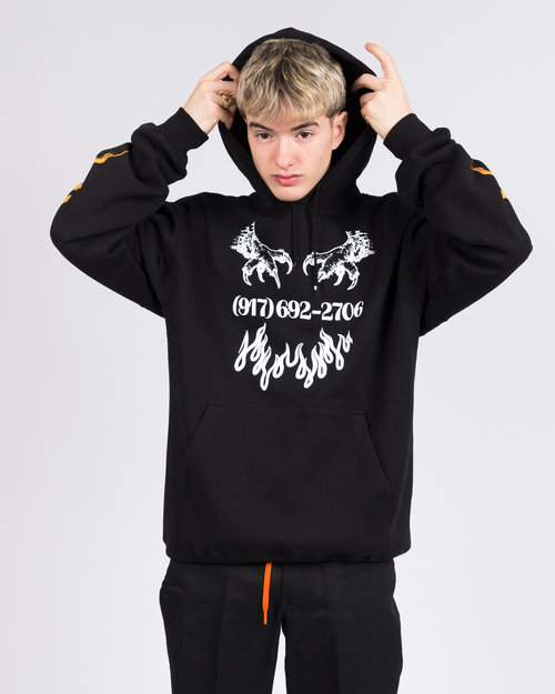 Call Me 917 Call me 917 Matrix Pullover Hood Black
