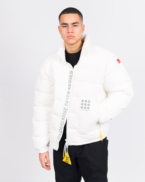 THE NEW ORIGINALS The New Originals Cloud 9 Dots Down Jacket White