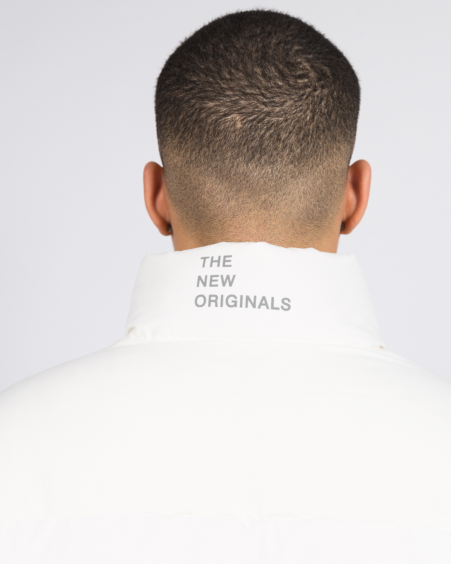 The New Originals Cloud 9 Dots Down Jacket White