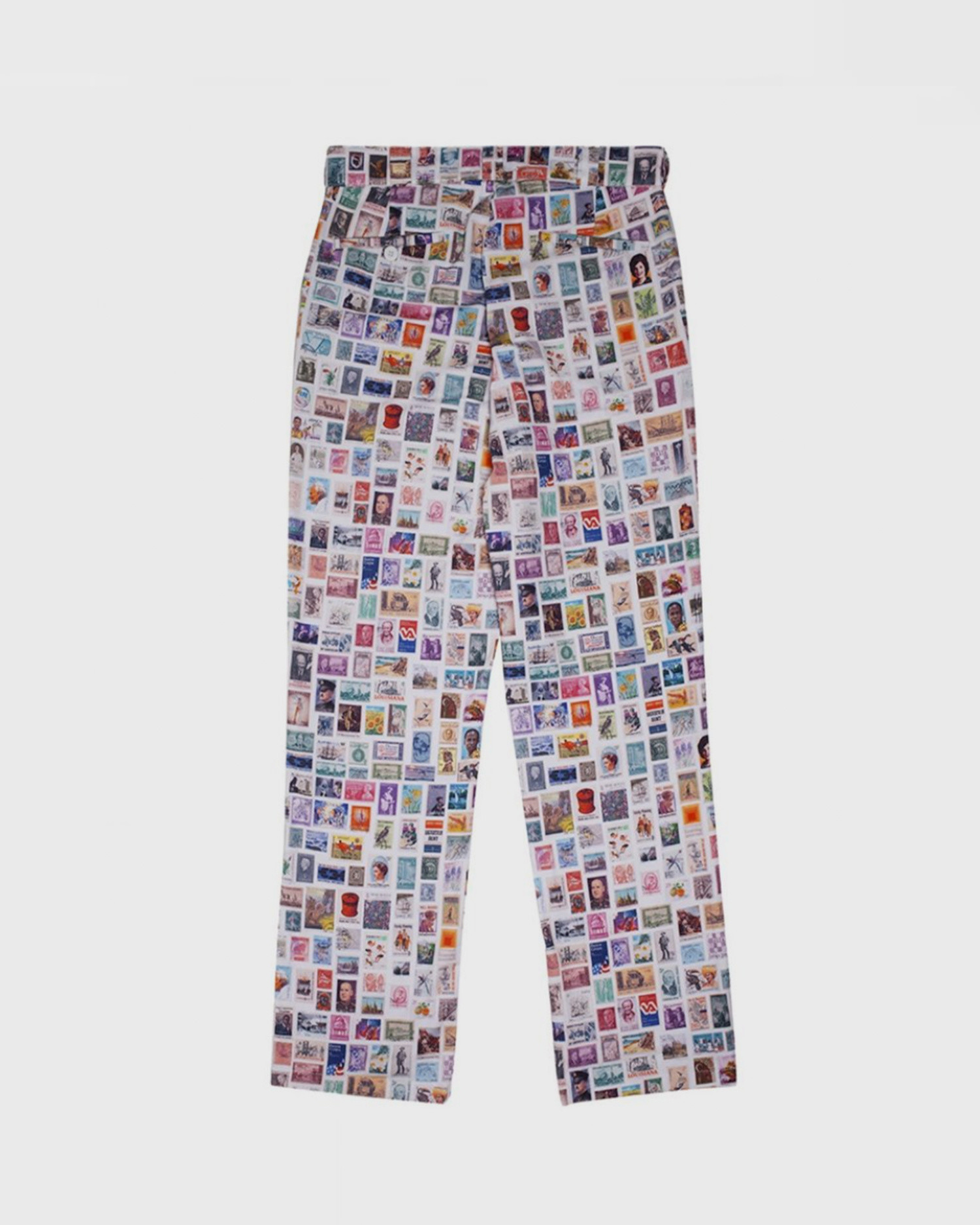 Fucking Awesome Stamps Dress Pants White/Multi
