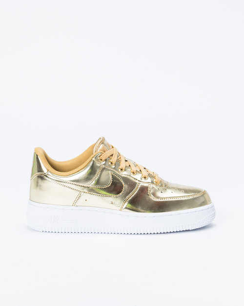 Nike Nike Womens Air Force 1 SP Metallic Gold/Club Gold-White