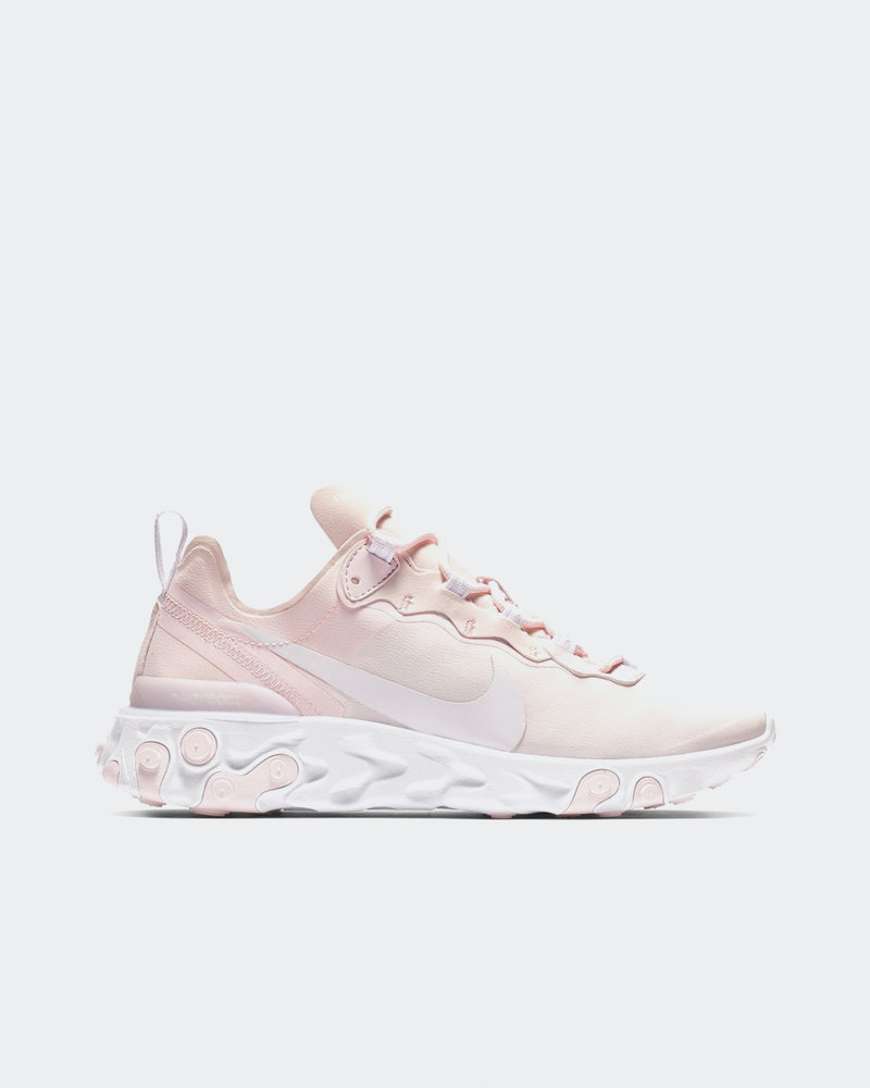 Nike Nike Womens React Element 55 pale pink/white-white-pale pink