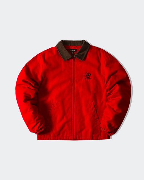Bronze Bronze Duck Canvas Jacket Red