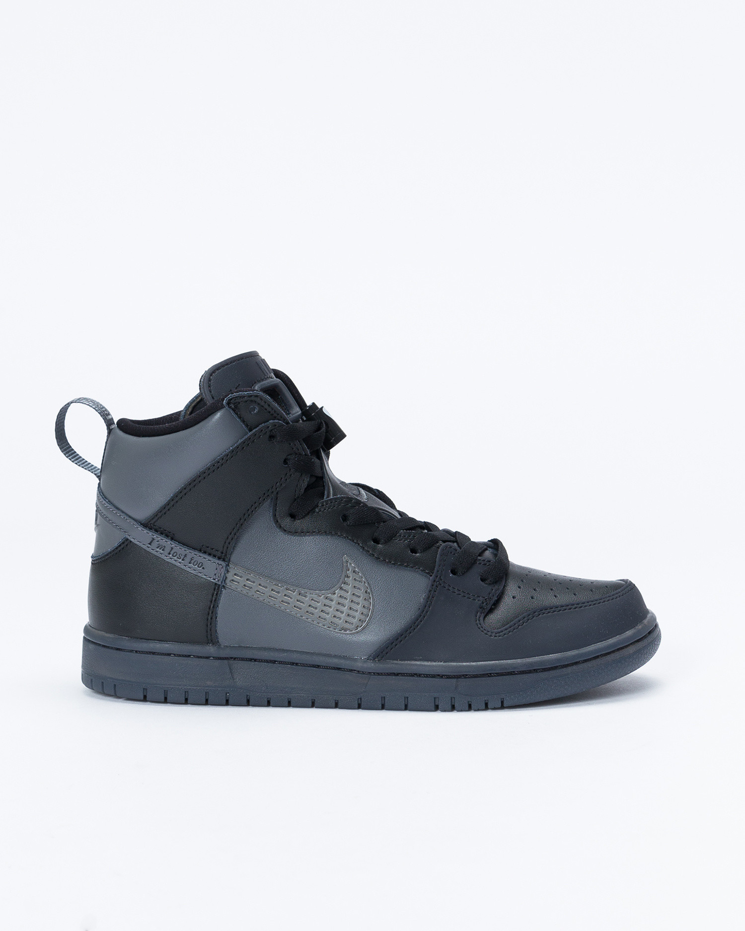 Nike sb dunk high pro FPAR prm qs Black/dark grey-black
