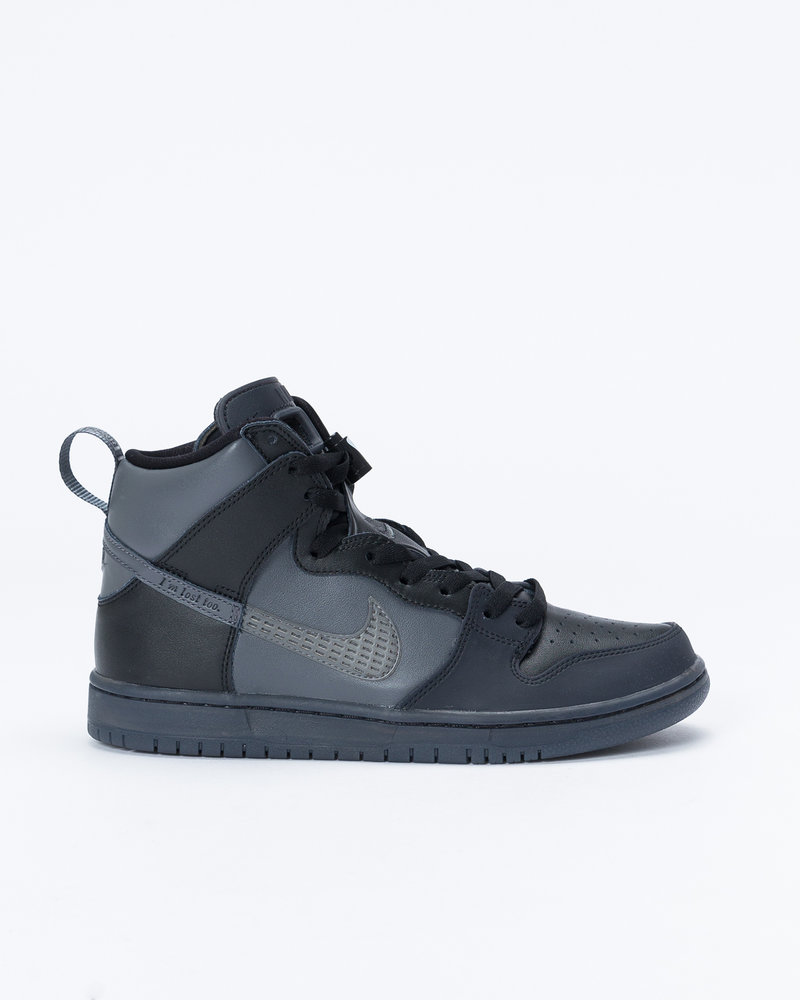 Nike Nike sb dunk high pro FPAR prm qs Black/dark grey-black