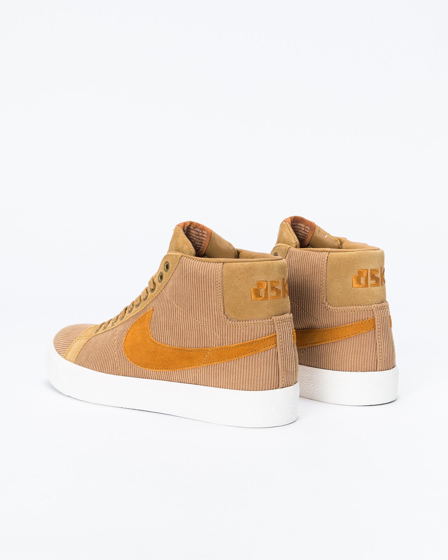 Nike SB Blazer Mid ISO Oski Muted Bronze