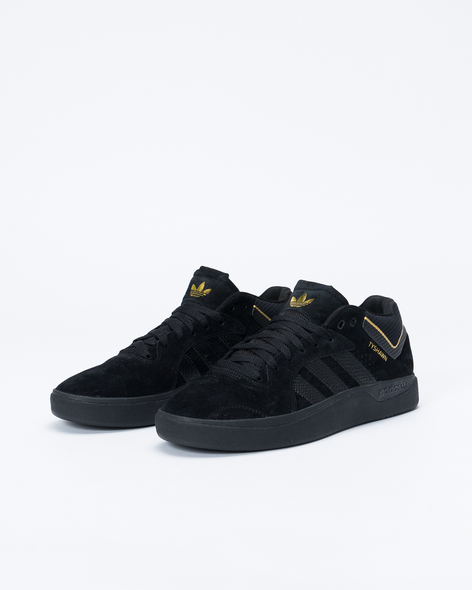 Adidas Tyshawn Core Black/Core Black/Gold Metal
