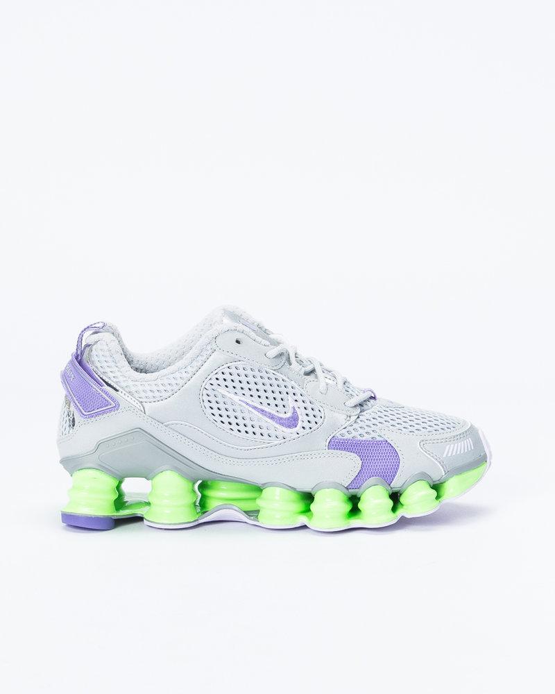 Nike Nike womens shox tl nova Mtlc platinum/metallic silver-lime blast