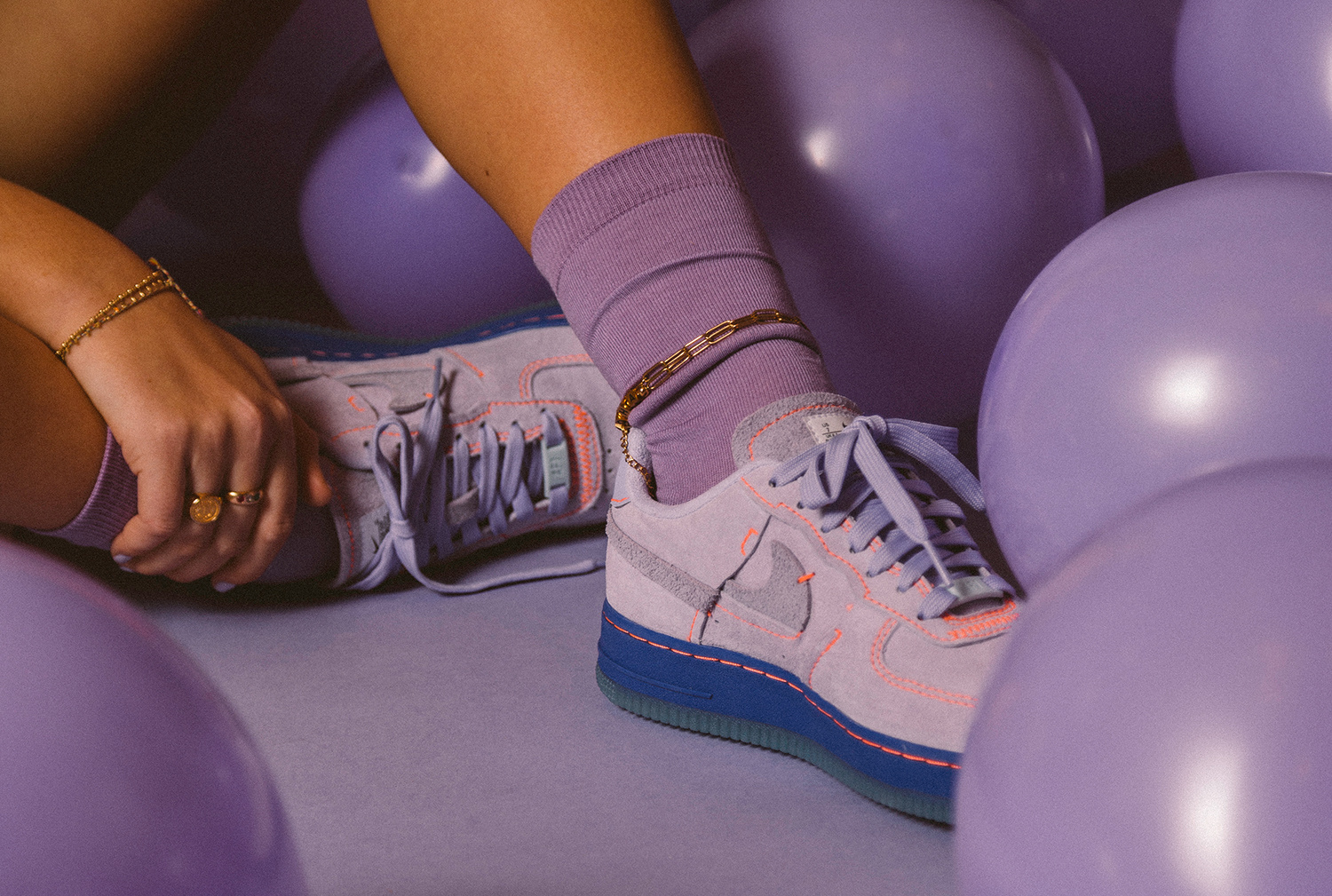 Nike Air Force 1 '07 LX: 'Purple Agate'