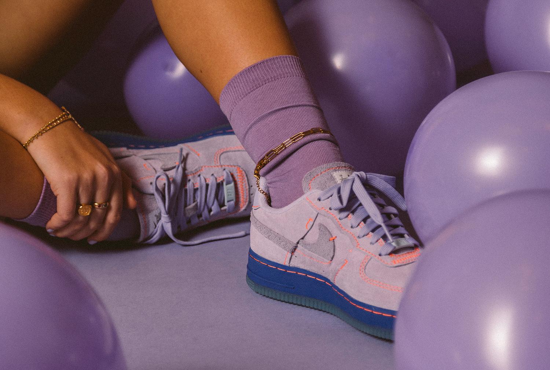 Nike Air Force 1 '07 LX: 'Purple Agate'