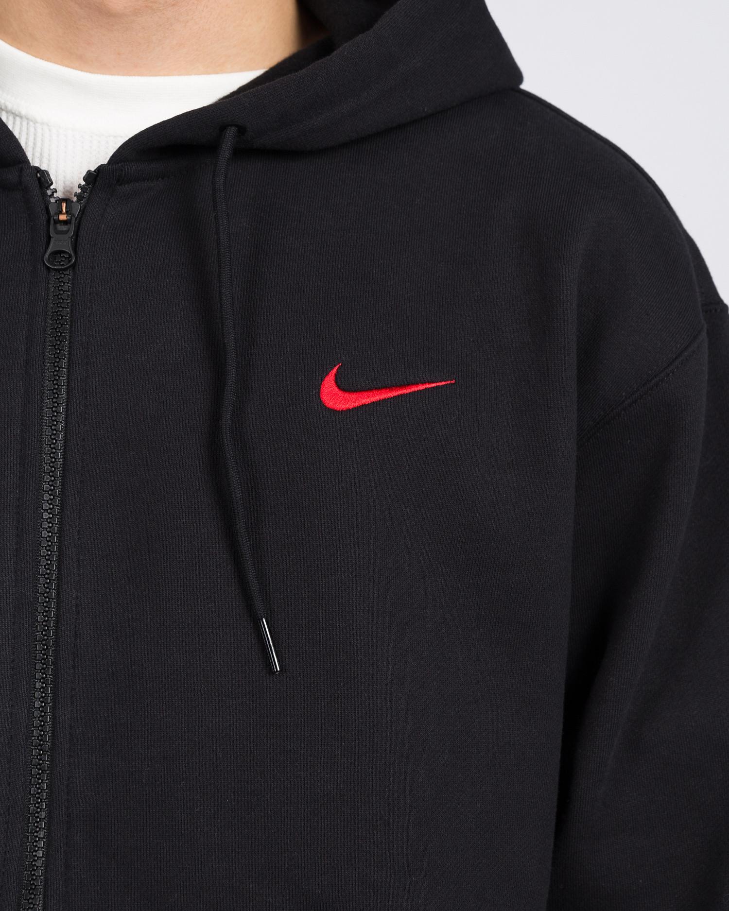 Nike SB ISO Oski Hood Black University Red