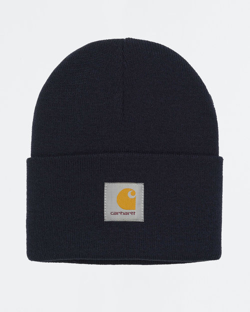 Carhartt Carhartt Acrylic Watch Hat Dark Navy Heather