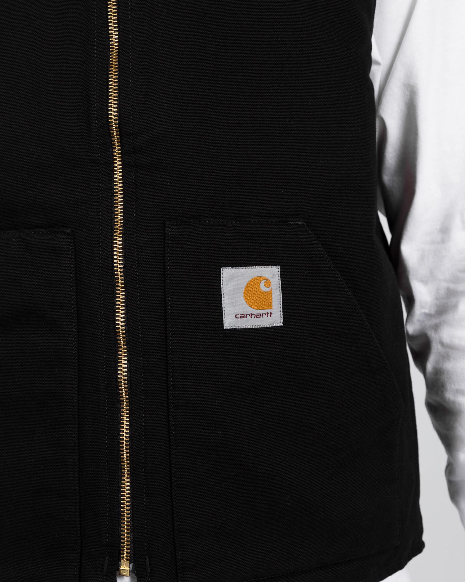 Carhartt Classic Vest Black Rinsed