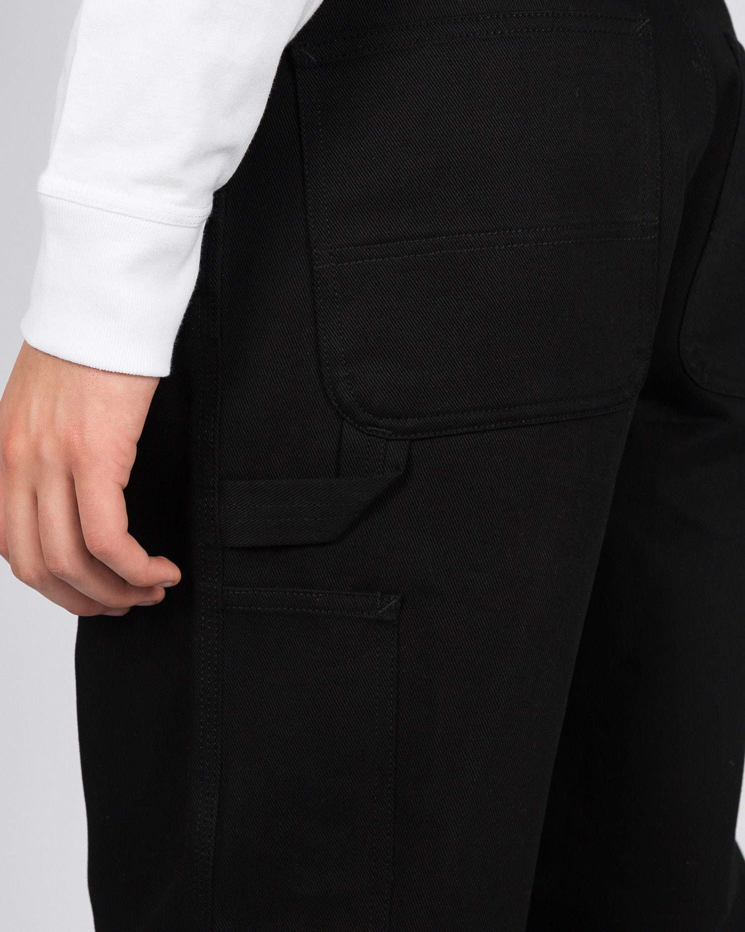 Carhartt Single Knee Pant Black Rigid