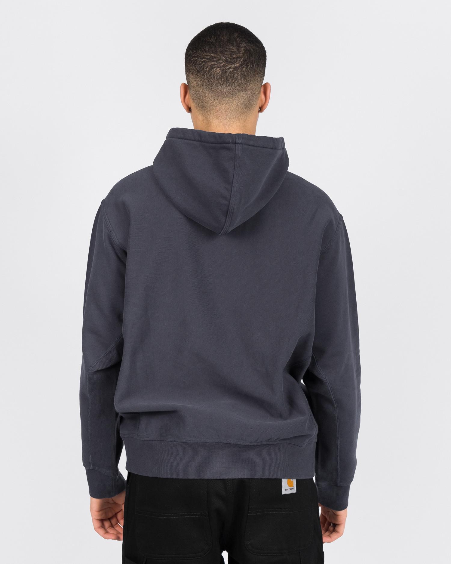 Carhartt Hooded American script sweater Blue