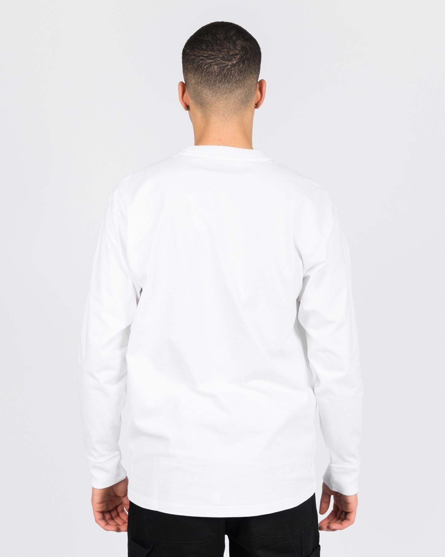 Carhartt American Script Longsleeve T-shirt White
