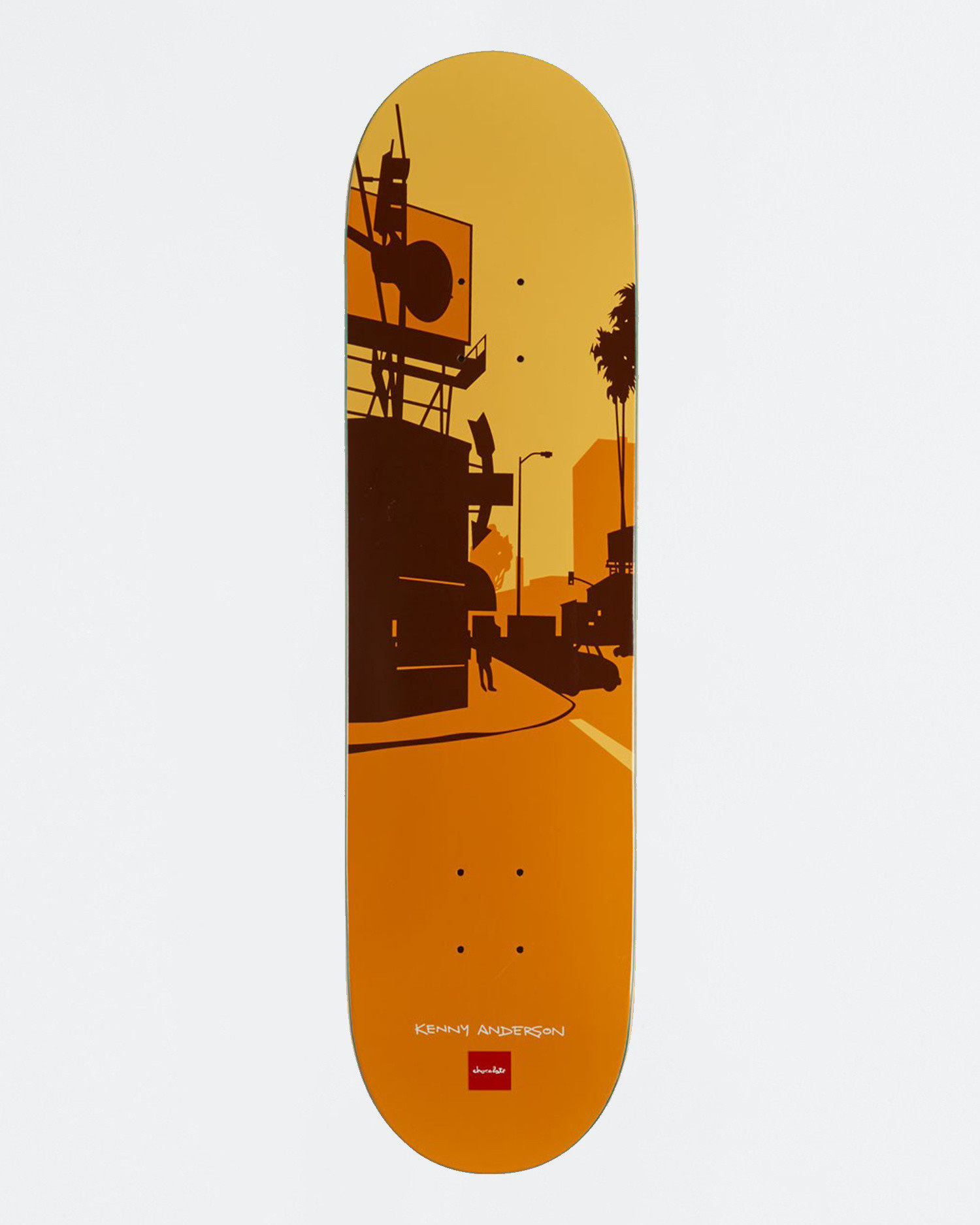 Chocolate Anderson City series Deck 8.125